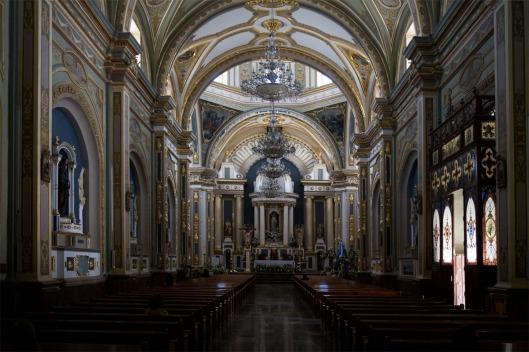 Interior, Cathedral at Tehuacán, Puebla